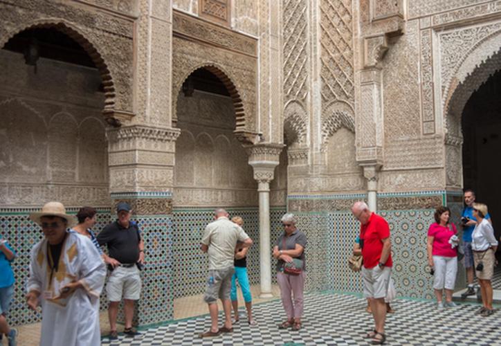 El Ministerio de Cultura de Marruecos inició la restauración del edificio en 2012. (Foto: Internet)