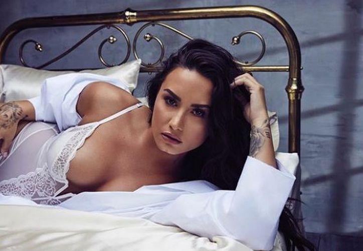 Demi también revela que está dispuesta a salir con un hombre o una mujer. (Instagram)