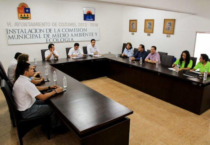 Instalan la Comisión Municipal de Medio Ambiente en Cozumel. (Cortesía/SIPSE)