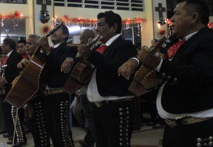 La demanda de la música de los mariachis ha disminuido considerablemente en los últimos 20 años. (Paloma Wong/SIPSE)