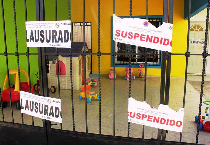 Estancias infantiles no cuentan con requerimientos necesarios para operar. (Foto: Daniel Pacheco)