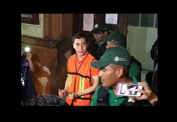 Diego Cruz Alonso fue acusado del delito de pederastia en contra de una menor en hechos ocurridos en enero de 2015. (Isabel Zamudio/Milenio)