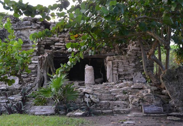 Xaman-Há, una de las zonas arqueológicas en abandono. (Adrián Barreto/SIPSE)