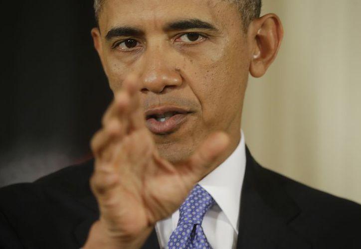 Obama asegura que EU ha logrado expulsar a los talibanes de Afganistán. (Agencias)
