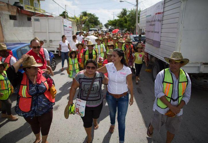 El programa arrancó ayer en la Región 219. (Luis Soto/SIPSE)