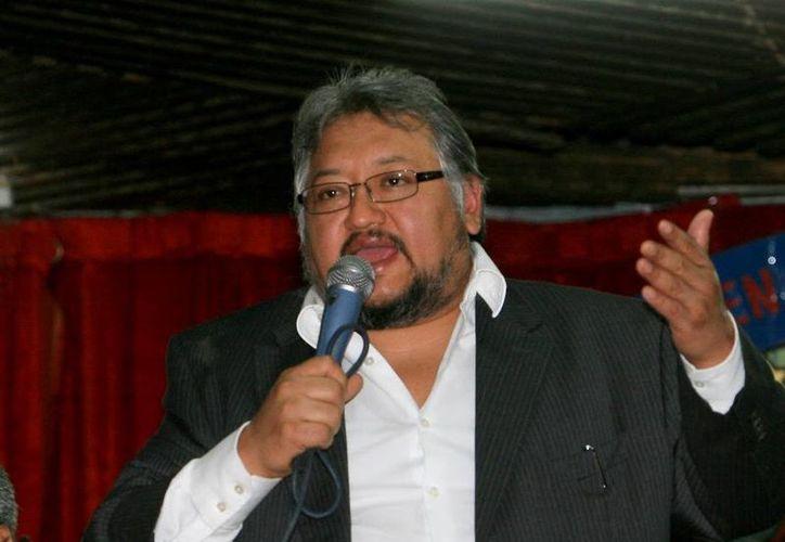 """""""Martín Esparza representa la corrupción y la mentira"""", señaló Alejandro Muñoz. (Archivo/Notimex)"""