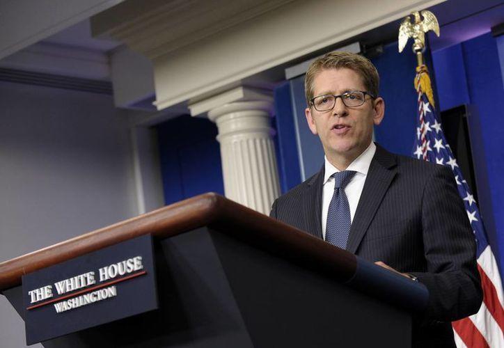 """Jay Carney afirmó que """"Snowden no es un informante"""". (Agencias)"""