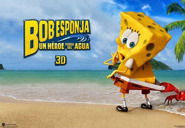 """Una escena de la película de Bob Esponja """"The Spongebob Movie: Sponge Out of Water"""", que captó los mayores ingresos de viernes a domingo en su estreno en cines de Estados Unidos y Canadá.(Paramount Pictures y Nickelodeon Movies)"""