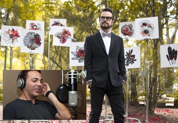 Aleks Syntek y Cristian Castro (recuadro) unirán sus talentos en una gira de conciertos. (radioparade.mx y impactony.com)