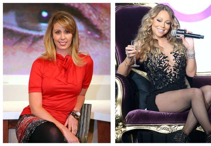 Aunque la cantante accedió a la entrevista, su actitud provocó la incomodidad de Sarmiento. (Hola)
