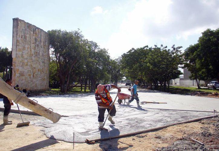 La conclusión de las obras  en la calle 60 norte está programada para finales de enero del próximo año. (Milenio Novedades)