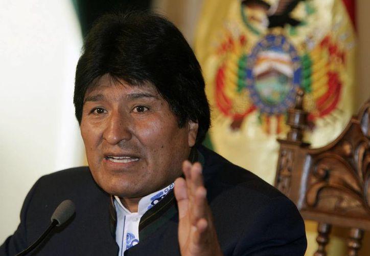 """Morales dijo hoy que Chile cometió una """"agresión"""" al pueblo boliviano. (Archivo/EFE)"""