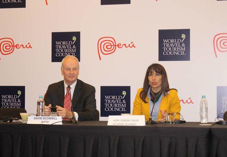 Destacan la presencia de expositores y panelistas en la Cumbre Mundial de Viajes y Turismo Américas. (Stephani Blanco/SIPSE)
