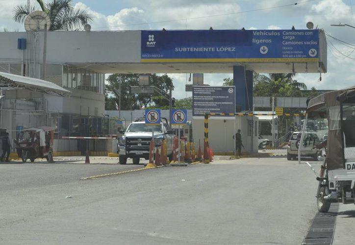 Comerciantes de Subteniente López insistieron ante las autoridades del ramo de que haya un impulso económico en la zona. (Harold Alcocer/SIPSE)