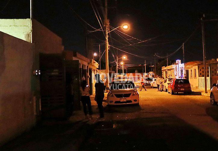 El trágico suicidio ocurrió en un predio de la calle 59 C entre 140 y 142 del fraccionamiento Nora Quintana. (Carlos Navarrete/SIPSE)