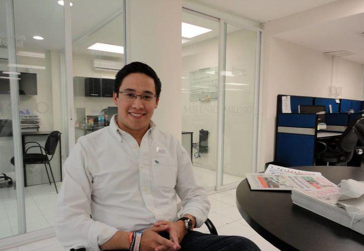 Secretaría Nacional de Acción Juvenil, Everardo Padilla Camacho. (Milenio Novedades)