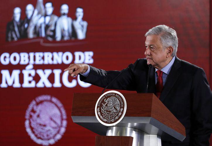 López Obrador firmó un decreto para permitir a Pemex que migre pozo. (Foto: Notimex/Arturo Monroy)
