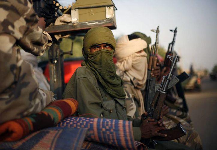 Milicianos realizaron este fin de semana el ataque. (Agencias)