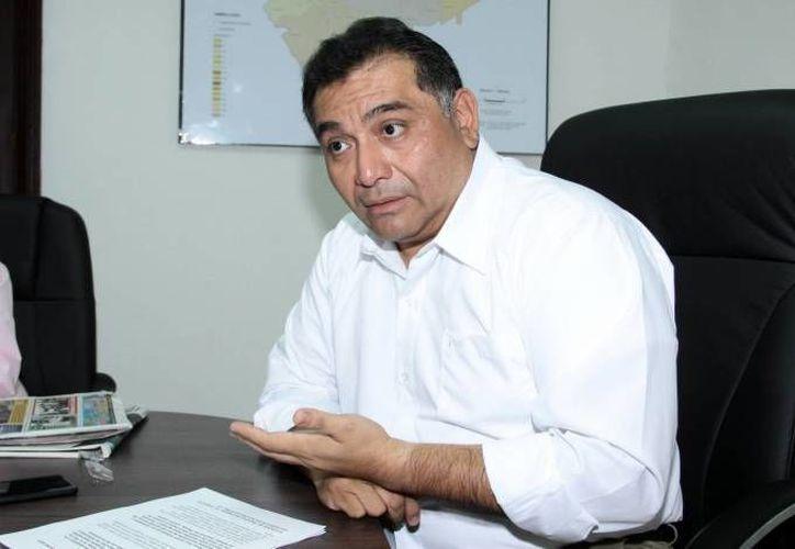 Víctor Caballero Durán, titular de la Segey: en Yucatán se da continuidad a un proceso de depuración y regularización de nómina de maestros. (SIPSE)