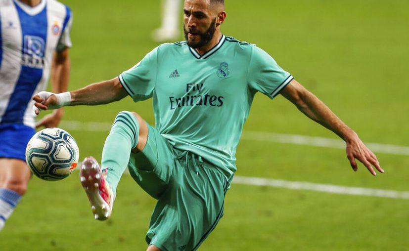 Karim Benzema sacó una genialidad de la chistera que resultó fundamental para la victoria madridista en su visita a los Periquitos. (Foto: AP)