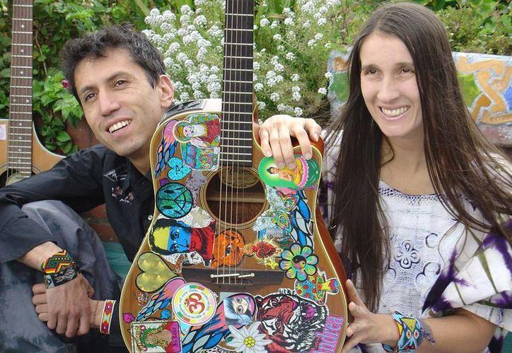 Héctor Buitrago y Andrea Echeverri, del dúo colombiano Aterciopelados, recordaron los momentos mágicos que vivieron con Gustavo Cerati (AP)