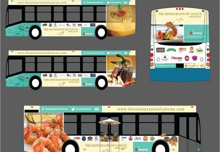 El plan consistía en una campaña publicitaria en autobuses, revistas en aerolíneas y agencias. (Victoria González/SIPSE)