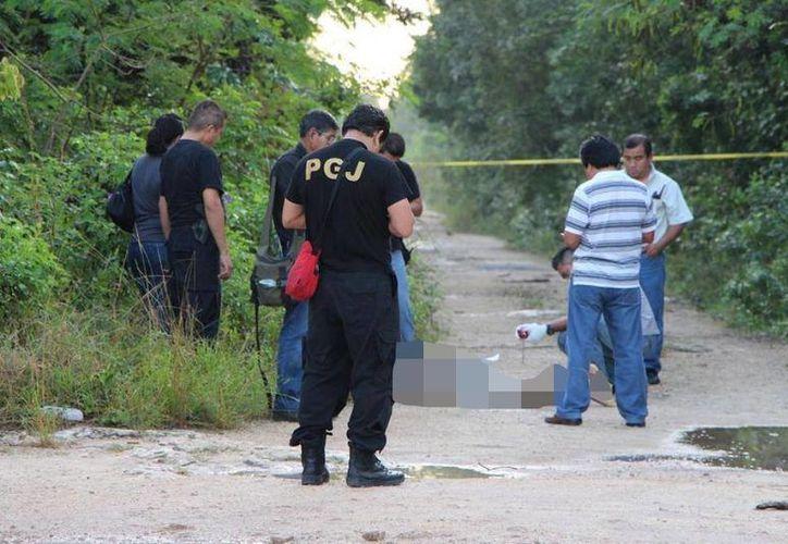 Un total de 199 homicidios estuvieron motivados por hechos de la delincuencia organizada. (Foto de Contexto/SIPSE)