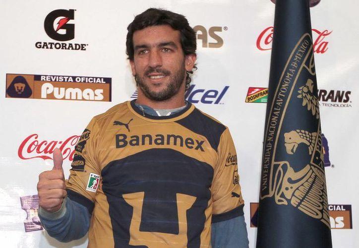 Desde hoy Juan Pablo Rodríguez es un felino de la UNAM. (Notimex)