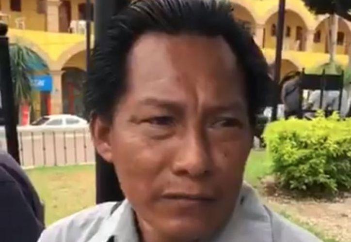 El reportero Fabián Hipólito Enemecio fue encontrado vivo. (Excélsior)
