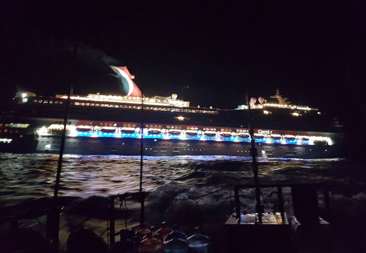 """El niño era pasajero del crucero turístico """"Carnival Freedom"""". (Cortesía)"""