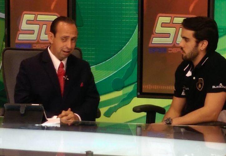 Fernando Barbachano Ortega, en entrevista en Gala TV con Alejandro Torre Ramírez. (Milenio Novedades)