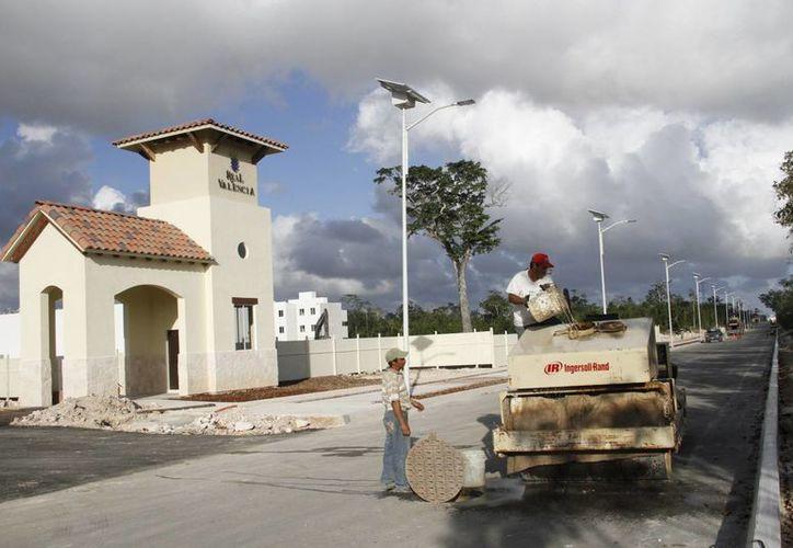 Uno de los proyectos beneficiados fue el fraccionamiento Real Mallorca (hoy se llama Real Valencia). (Tomás Álvarez/SIPSE)