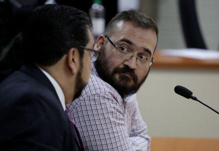 Javier Duarte enfrenta acusaciones por los delitos de delincuencia organizada y operaciones con recursos de procedencia ilícita. (Foto: Periódico am)