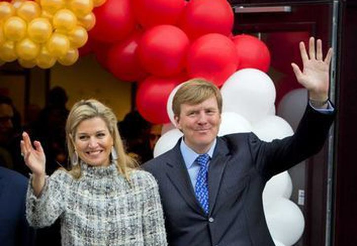 """La princesa Máxima de Holanda y el príncipe Guillermo Alejandro de Holanda en  los """"Juegos del Rey"""". (EFE)"""