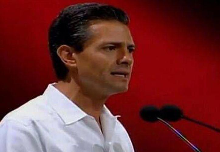 El Presidente de la República, Enrique Peña Nieto, presente en el Tianguis Turístico. (Twitter/@HeidyJM)
