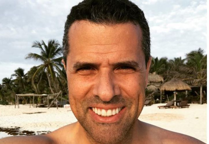 Marco aprovechó su estancia en Tulum para disfrutar de sus playas. (Foto: Instagram)
