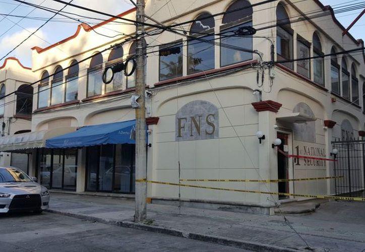 El inmueble de la empresa FNS fue asegurado en octubre pasado. (Israel Leal/SIPSE)