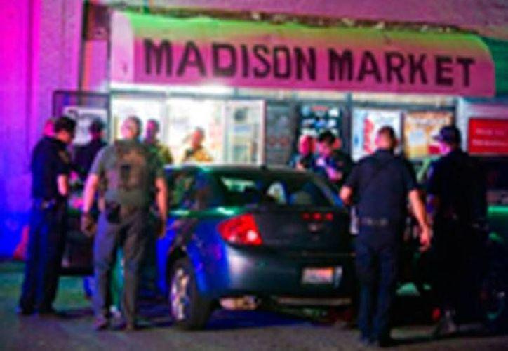 Una balacera dejó al menos un muerto en Stockton, California. (recordnet.com)
