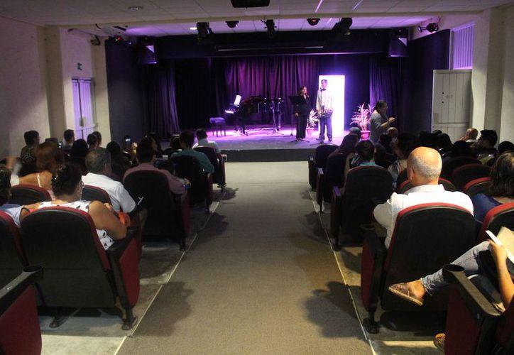 Los artistas presentaron un concierto en la Casa de la Cultura de Cancún. (Faride Cetina/SIPSE)