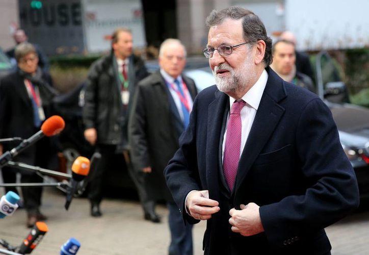 El presidente de España en funciones, Mariano Rajoy, declinó la invitación del rey Felipe VI para ser investido nuevamente. (AP)
