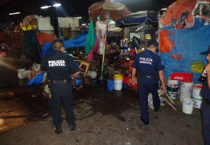 La policía municipal reportó 488 detenciones por disturbios en la vía pública. (Cortesía)