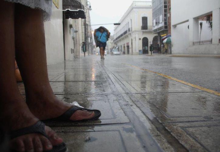 Las lluvias continuarán toda esta semana. (Juan Albornoz/SIPSE)