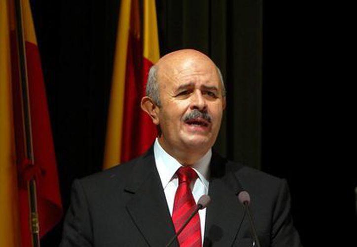 El gobernador de Michoacán, Fausto Vallejo, se retiró de su cargo temporalmente, por motivos de salud. (Notimex)