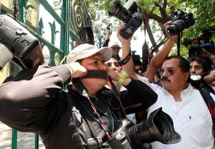 La violencia contra los periodistas y la impunidad no sólo dejan un rastro de dolor entre víctimas y familiares, sino que afectan a toda la prensa. (Archivo/Notimex)
