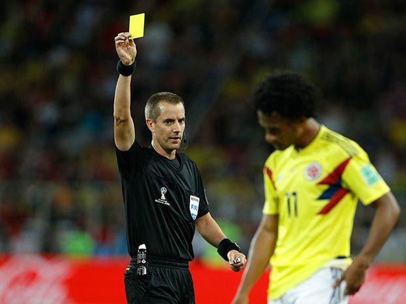 Mles de colombianos consideran que Inglaterra los eliminó en medio de jugadas polémicas (Foto AP)