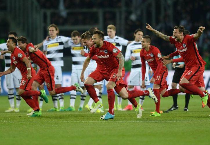 El Eintracht Frankfurt juega el sábado la Final de la Copa de Alemania contra el Borussia Dortmund. (Imago).