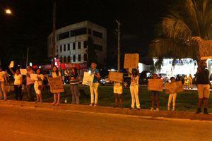 Protestan contra corrida de toros en Cancún
