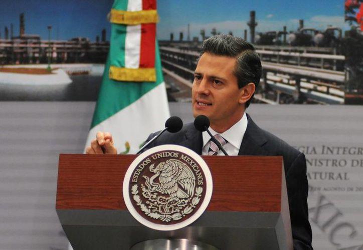 El Presidente recibió propuestas para el crecimiento económico de México. (Notimex)