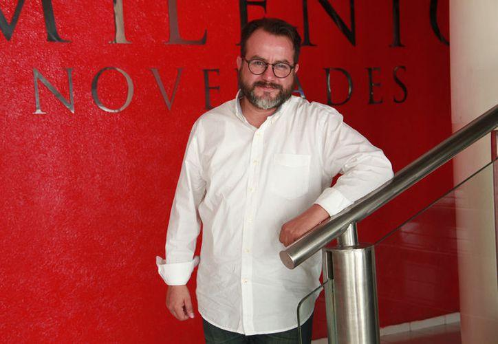Pablo Herrero, uno de los actores de 'Modo de atrapar a un novio'. (Jorge Acosta/ Milenio Novedades)