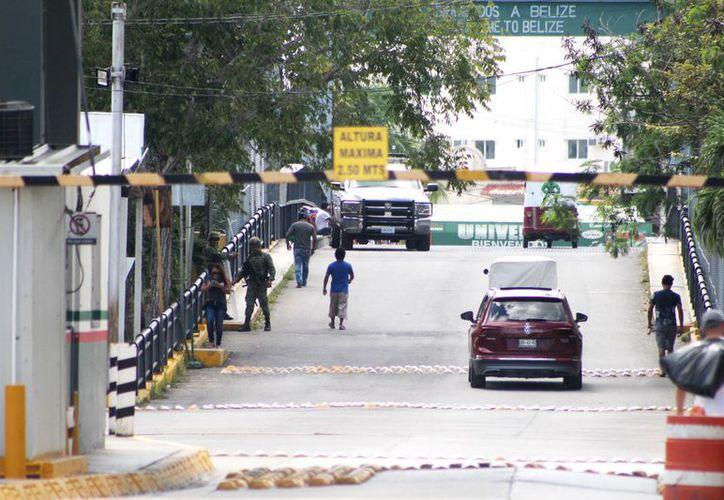 Las autoridades migratorias mexicanas han incrementado la vigilancia en la frontera con Belice. (Daniel Tejada/SIPSE)